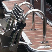 Pontoon Boat Ladders For Rear Gate