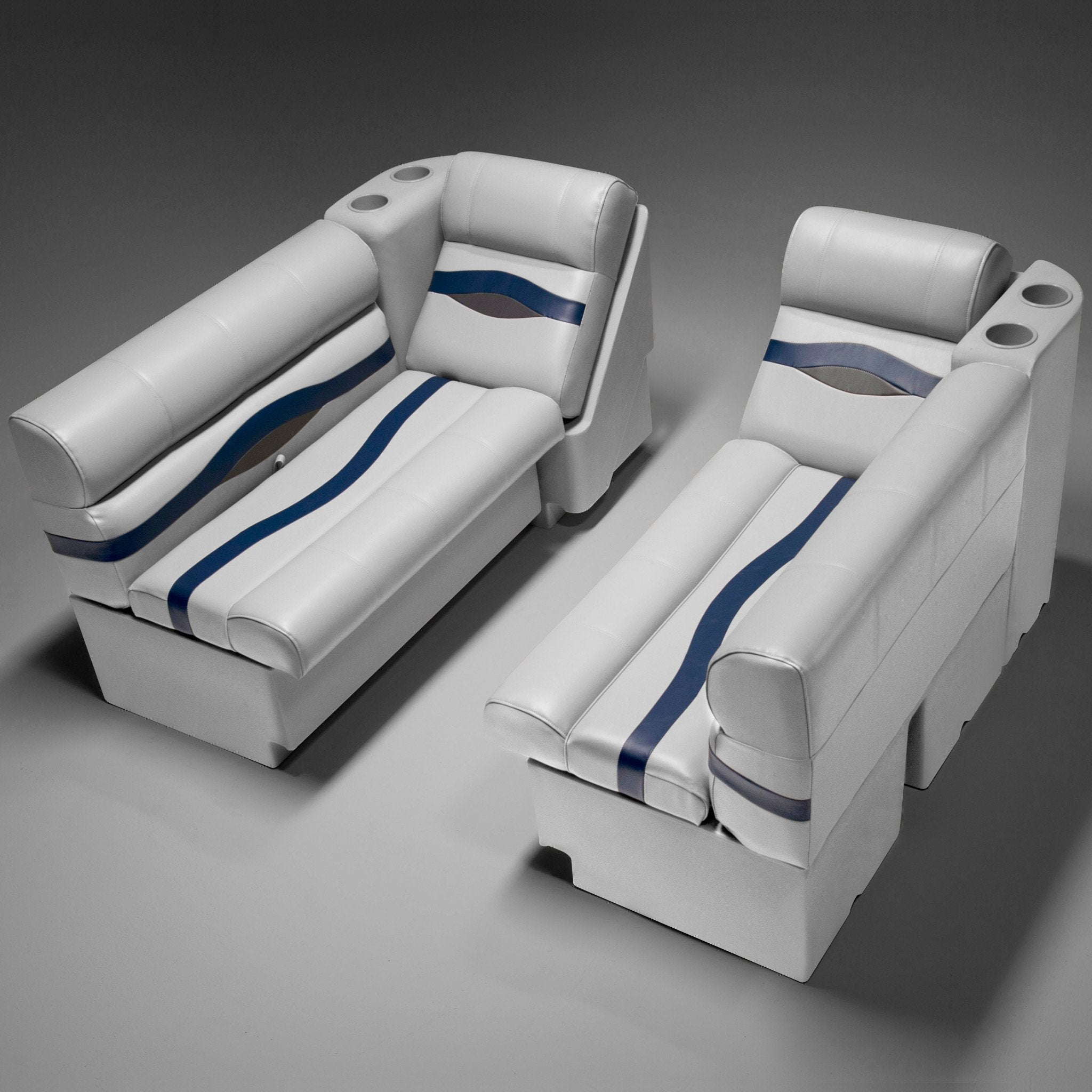 Houseboat Furniture And Accessories: Pontoon Boat Seats (PFG55B)