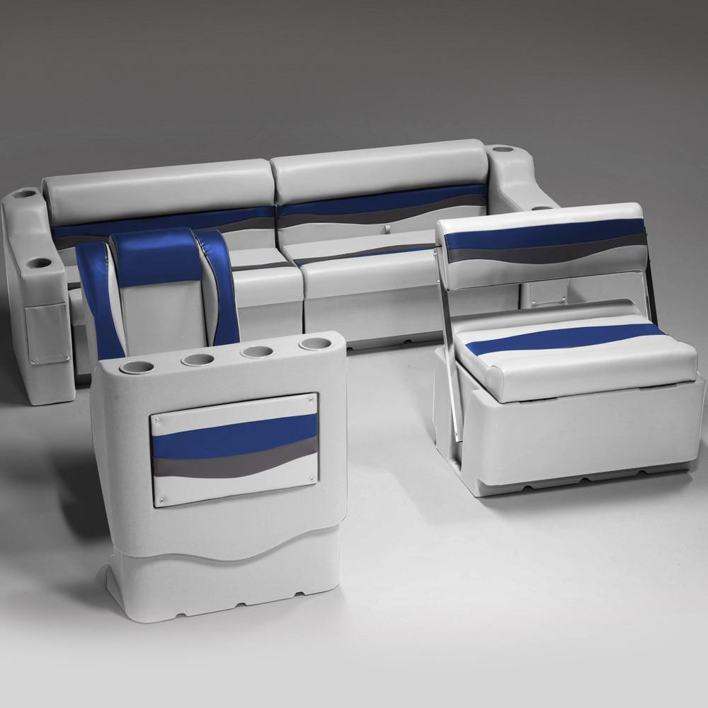 Houseboat Furniture And Accessories: Pontoon Boat Seats (CRG1796)