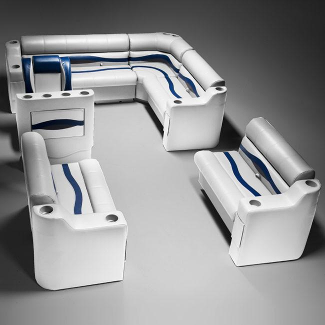 boat seats dg1566 gray and blue seating