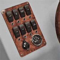 Large Pontoon Boat Switch Panel