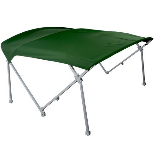 Green heavy duty pontoon canopies