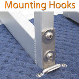Quick release mounts for easy attachment