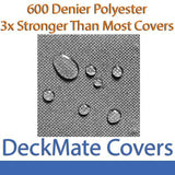 20' - 22' Gray Pontoon Boat Covers (In Stock)