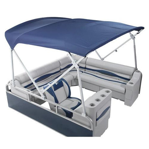 Heavy duty pontoon boat canopy top