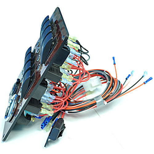 large pontoon boat switch panel  out of stock Pontoon Boat Wiring Diagram Pontoon Boat Wiring Diagram