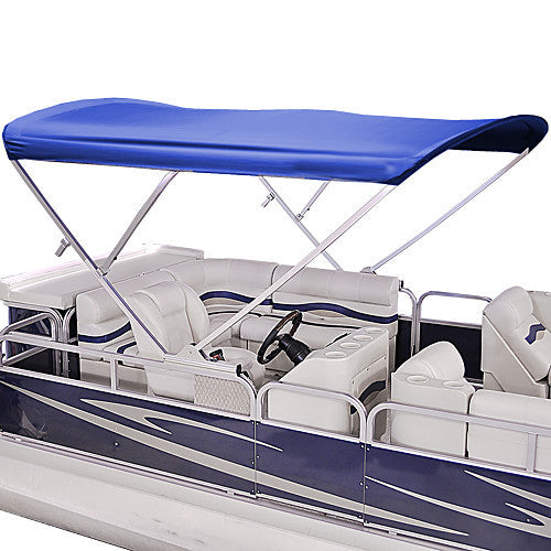 bimini bow pontoon vortex fast wide top frame complete awning amazon shipping com high long boat dp deck burgundy kit canopy and hardware