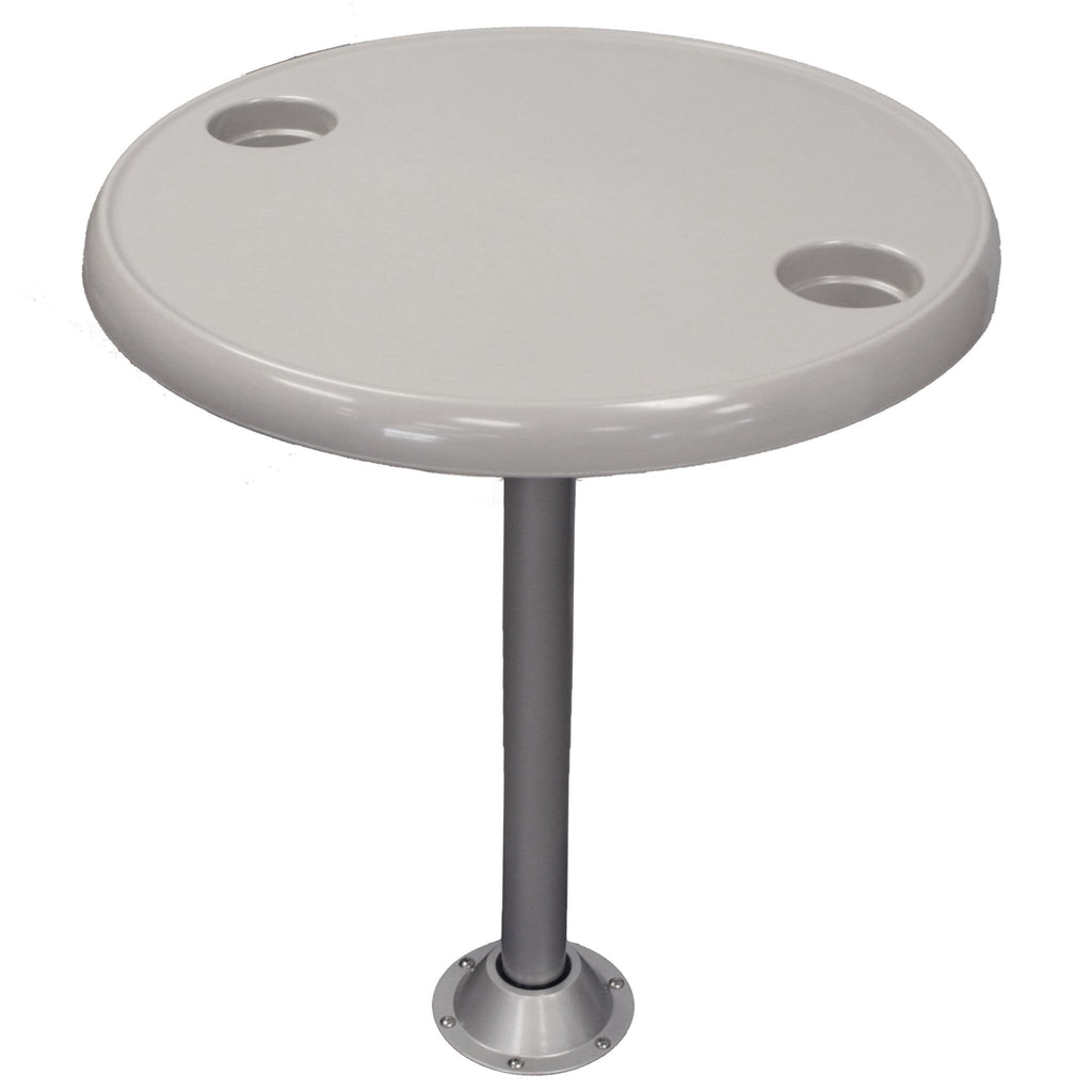 "24"" Round Pontoon Boat Table Kit"