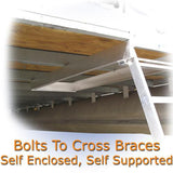 under deck pontoon ladders