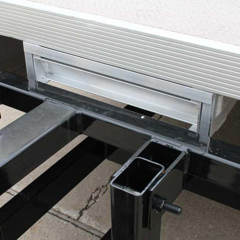 Under Deck Pontoon Boat Ladder (5 Step Ladder Stores Under Deck)