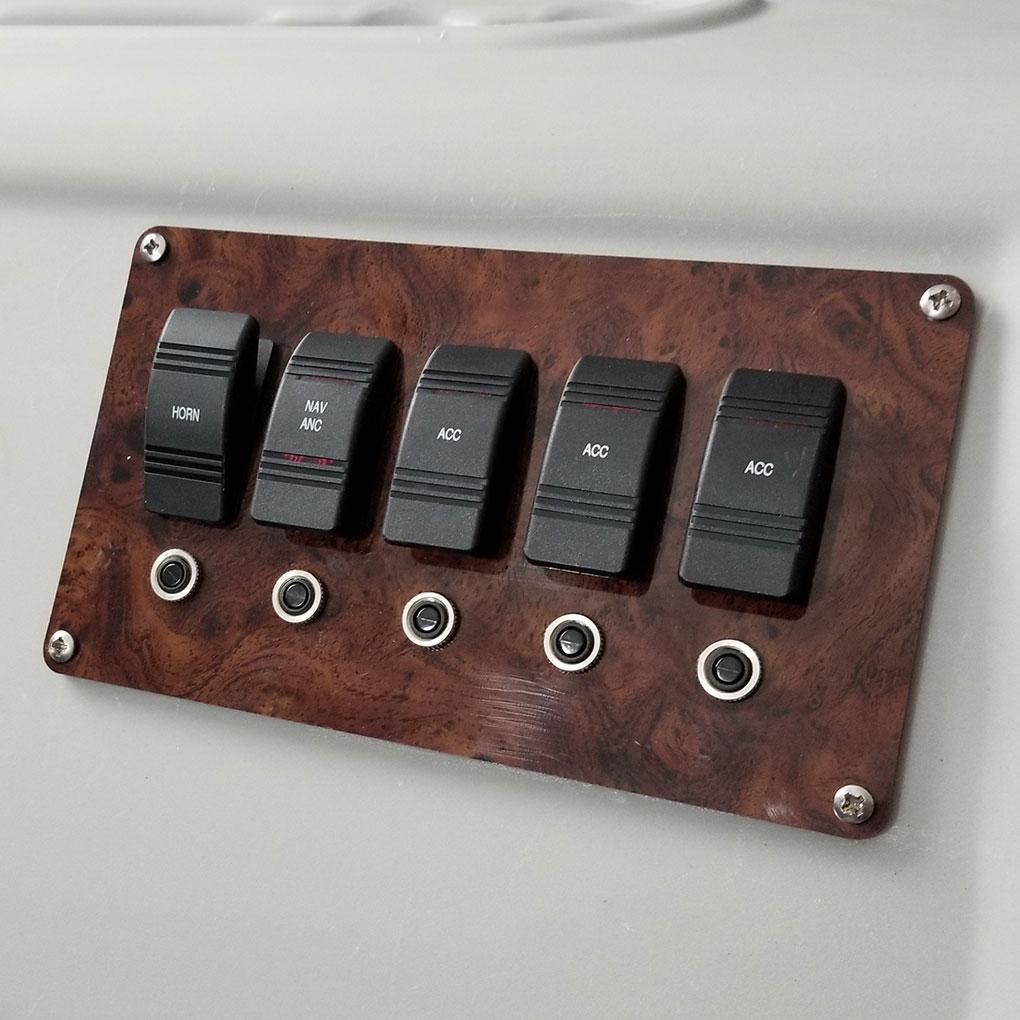 Pontoon Boat Switch Panel