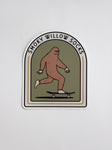 Skater Squatch Sticker
