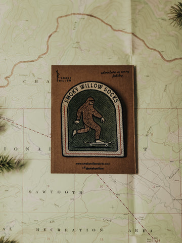 Skater Squatch Patch