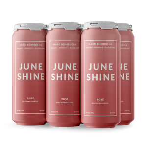 Load image into Gallery viewer, JuneShine Rosé 16oz 6 Pack
