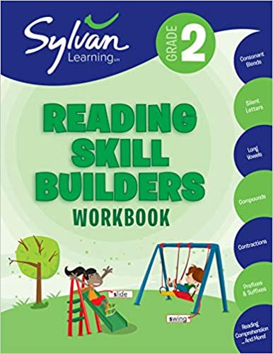 Second Grade Reading Skill Builders (Sylvan Workbooks) by Sylvan Learning