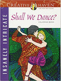 Insanely Intricate Shall We Dance? Coloring Book