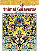 Animal Calaveras Coloring Book