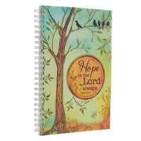 Hope in the Lord Isaiah 40: 31 (Wire-bound Notebook)