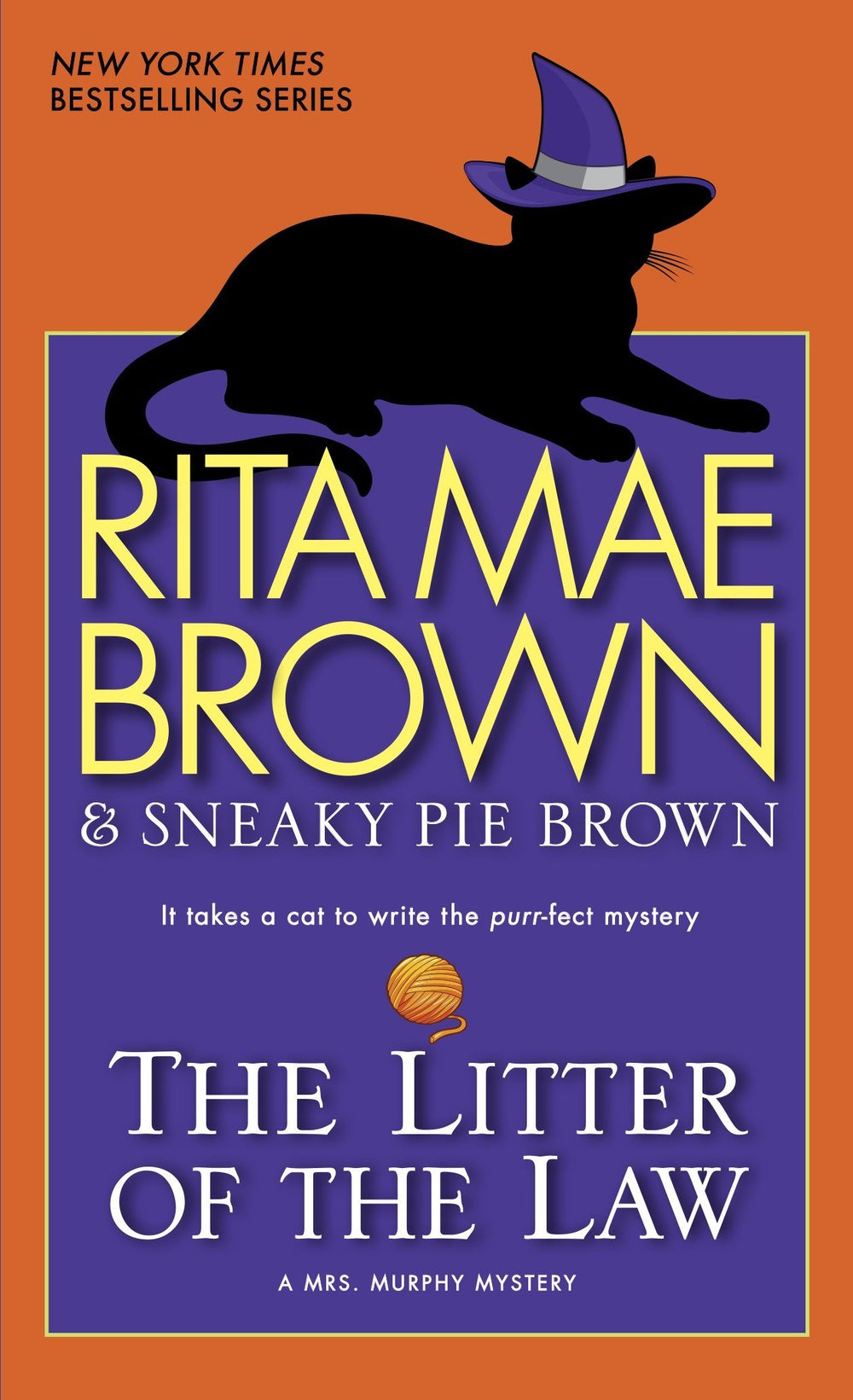 The Litter of the Law (Mrs. Murphy Mystery #22) by Rita Mae Brown