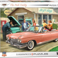 Pink Caddy (1000 Piece Puzzle)