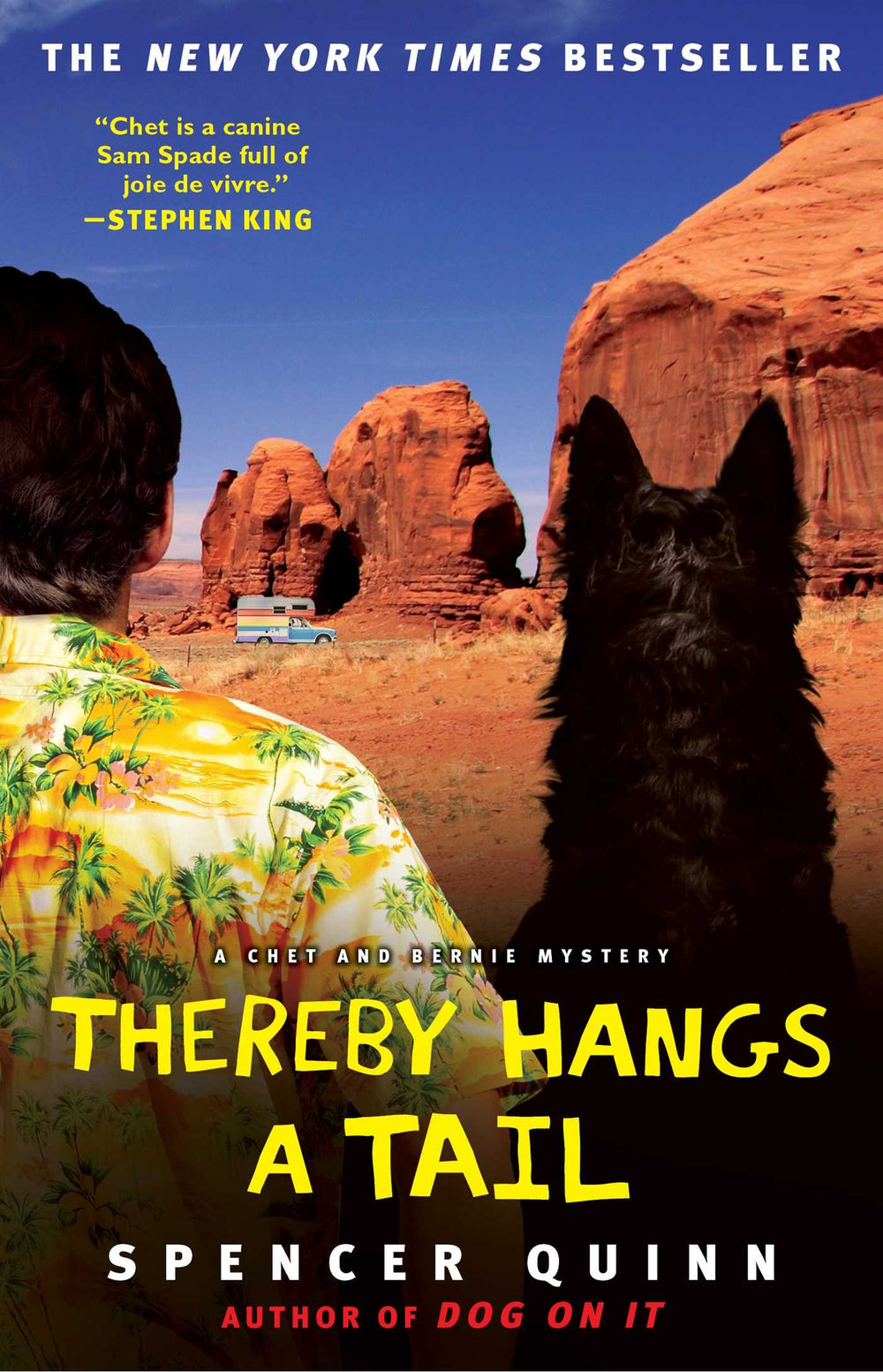 Thereby Hangs a Tail (Chet and Bernie Mystery #2) by Spencer Quinn