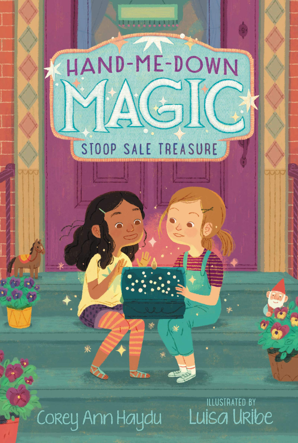 Stoop Sale Treasure (Hand-Me-Down Magic #1) by Corey Ann Haydu