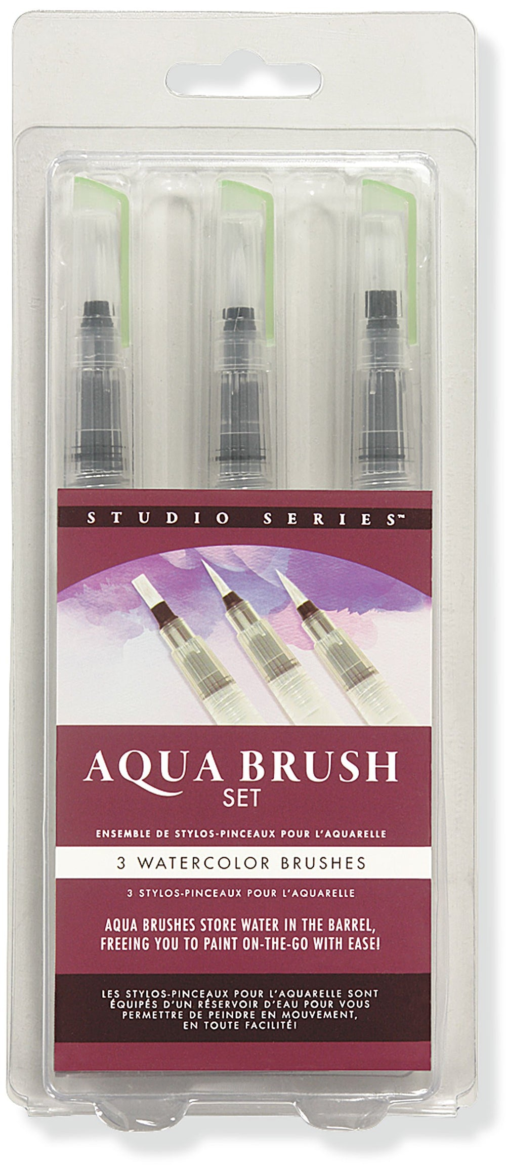 Studio Series Aqua Brushes