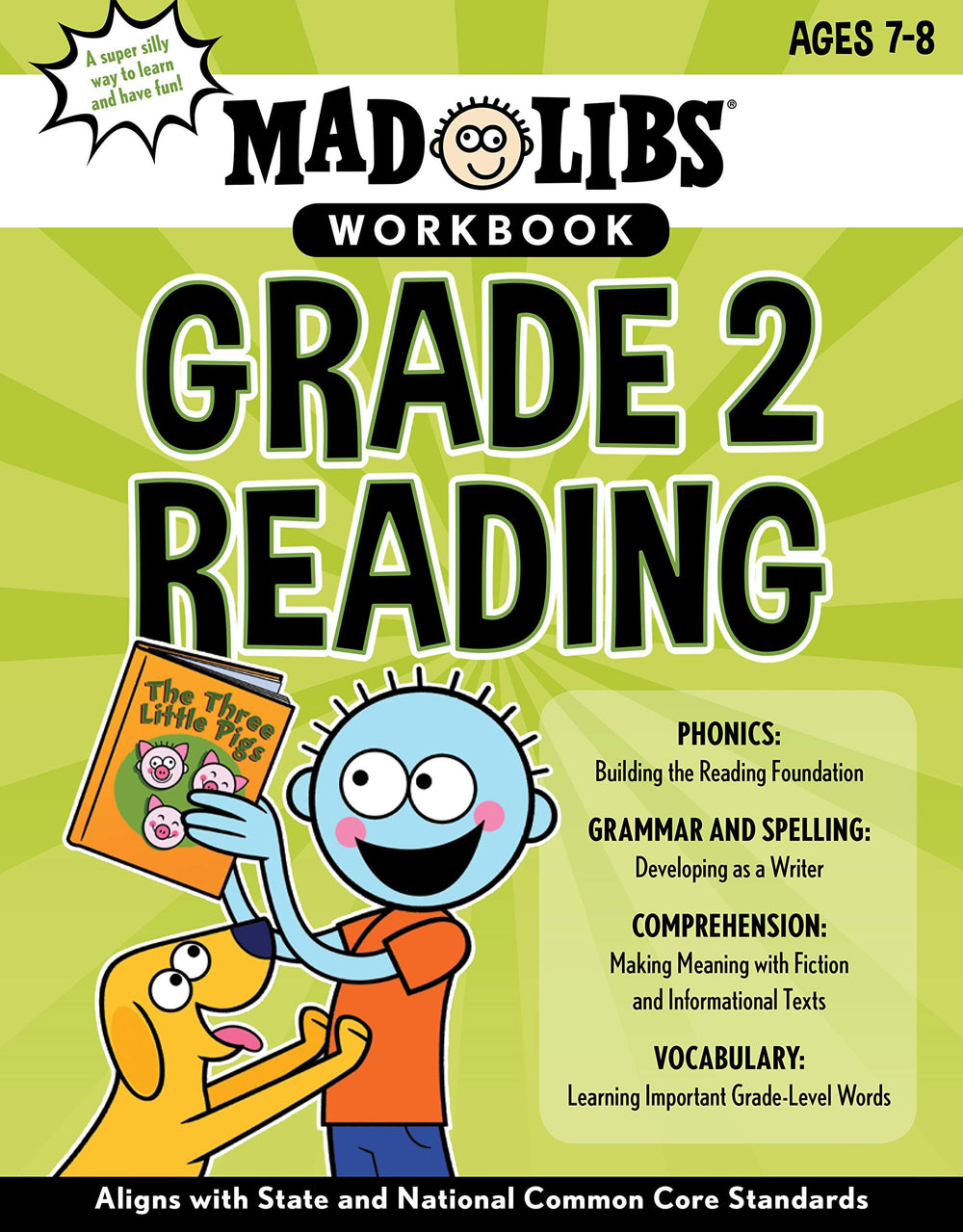 Mad Libs Workbook - Grade 2 Reading