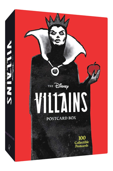 The Disney Villains Postcard Box: 100 Collectible Postcards