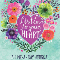 Listen to Your Heart: Line a Day Journal