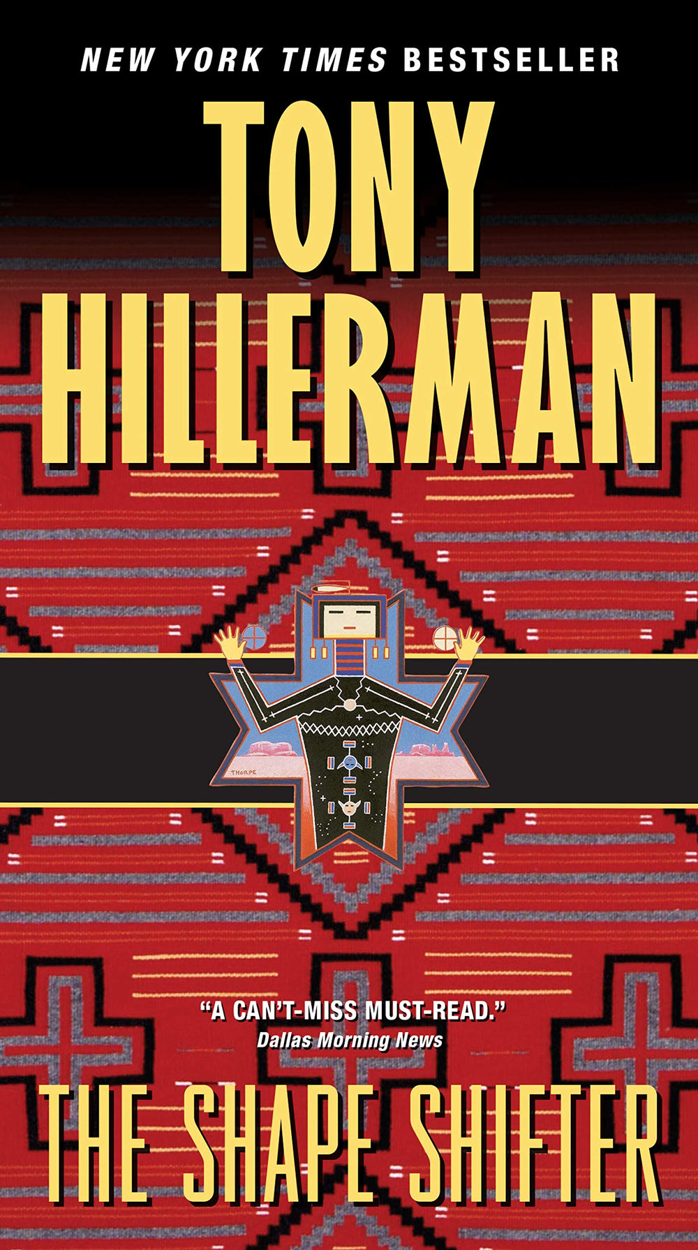 The Shapeshifter (Leaphorn and Chee 18) by Tony Hillerman