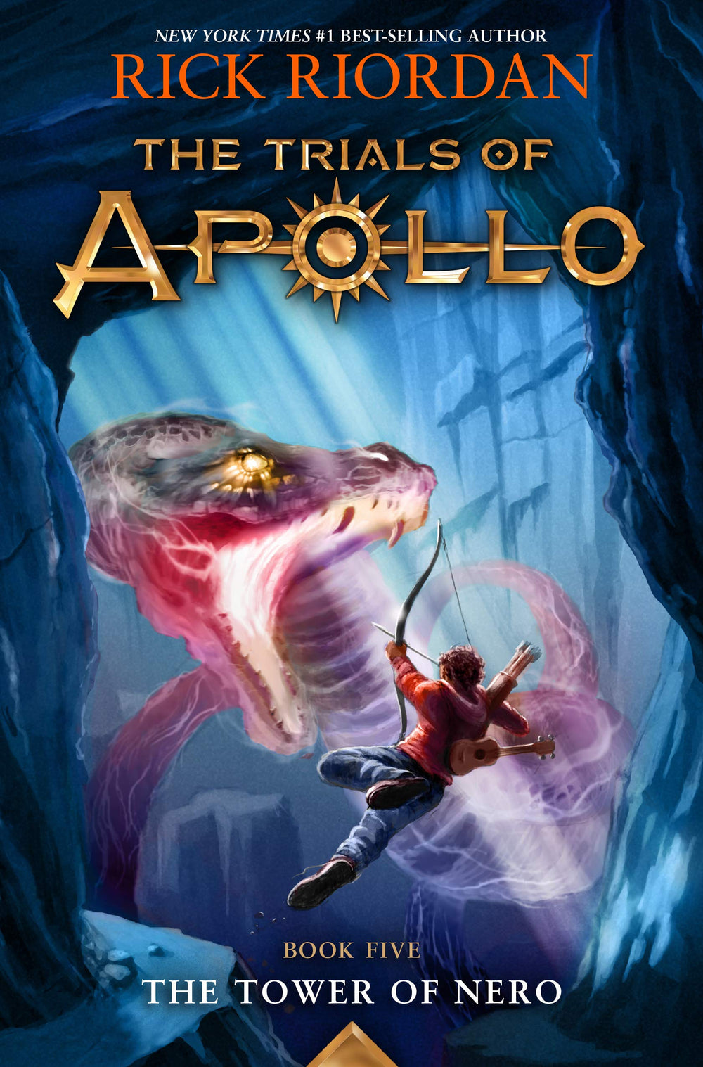 Tower of Nero (Trials of Apollo 5) by Rick Riordan