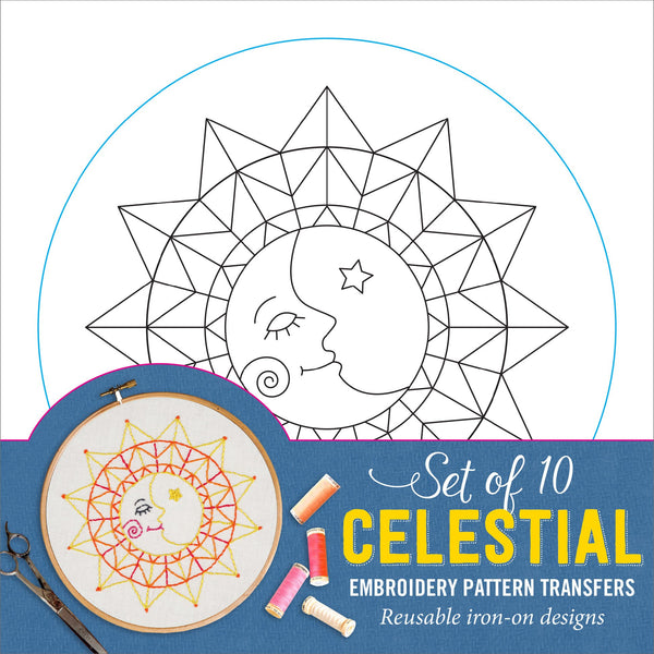 Celestial (Embroidery Transfers)