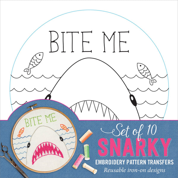 Snarky (Embroidery Transfers)