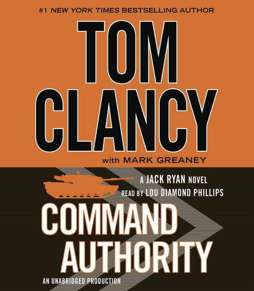 Command Authority (Jack Ryan #13) Unabridged CD by Lee Child