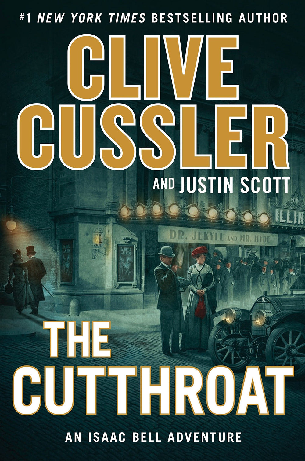 The Cutthroat (Isaac Bell 10) by Clive Cussler