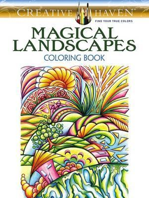 Magical Landscapes Coloring Book