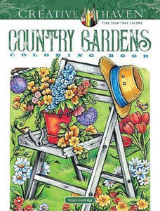 Country Gardens Coloring Book