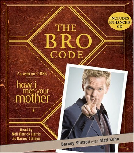 The Bro Code (Unabridged CD) by Barney Stinson