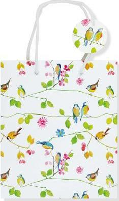 Watercolor Birds Gift Bag