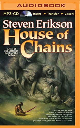 House of Chains (Malazan Book of the Fallen #4) Unabridged MP3 by Steven Erikson