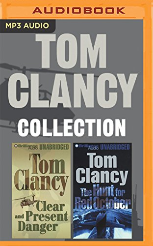 Tom Clancy Collection: The Hunt for Red October and Clear and Present Danger (Jack Ryan) Unabridged MP3 by Lee Child