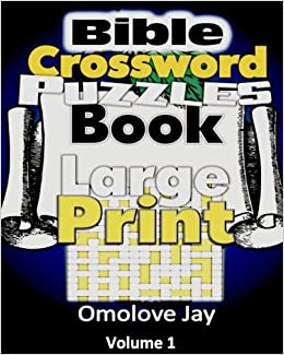 Bible Crossword Puzzle Book Large Print