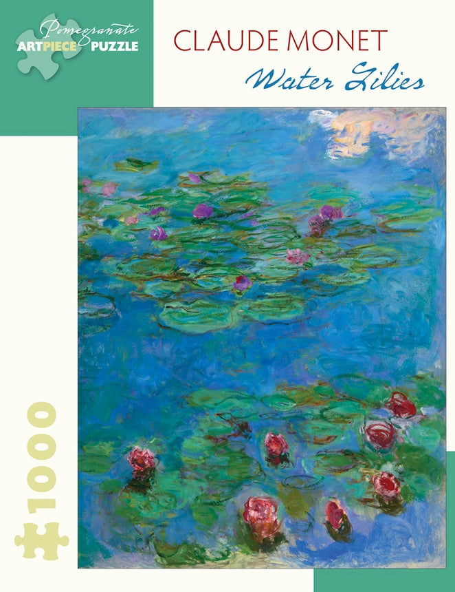 Claude Monet Water Lilies 1000-Piece Jigsaw Puzzle