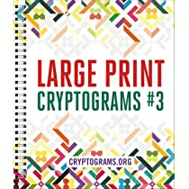 Large Print Cryptograms