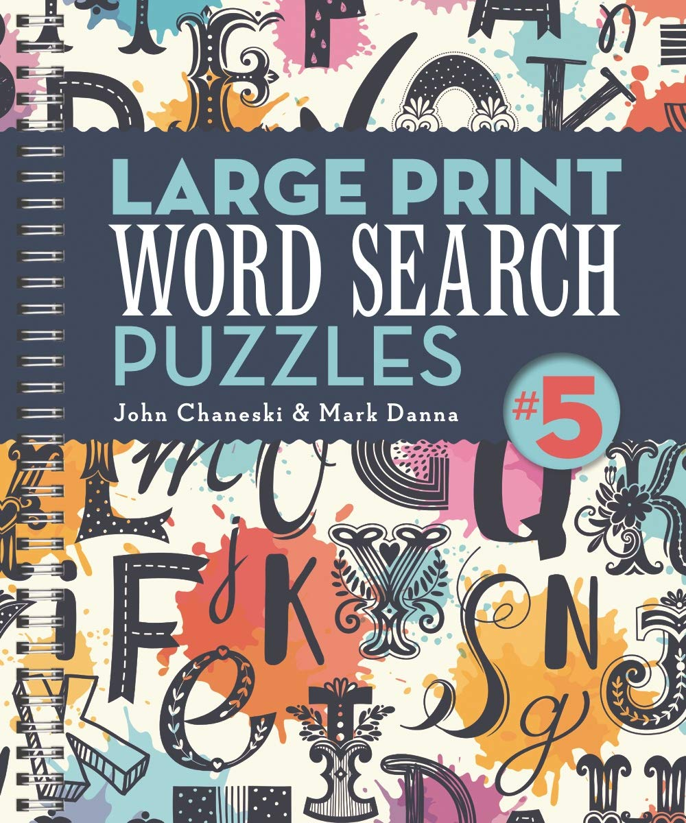 Large Print Word Search Puzzles 5
