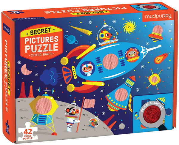 Outer Space Secret Pictures Puzzle (42 pieces)