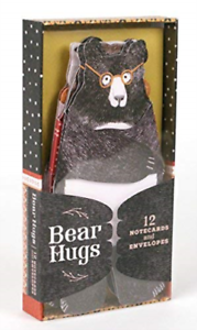 Bear Hugs: 12 Notecards and Envelopes