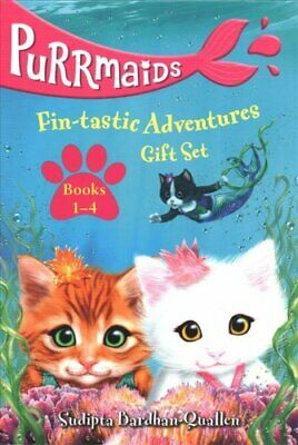 Purrmaids Fin-Tastic Adventures 1-4 Boxed Set