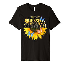 Load image into Gallery viewer, Blessed To Be Called YaYa -Sunflower tee